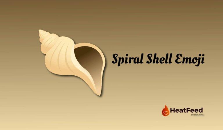 🐚 Spiral Shell Emoji
