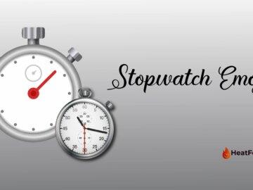 stop watch emoji