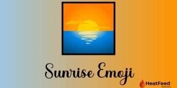 Sunrise emoji