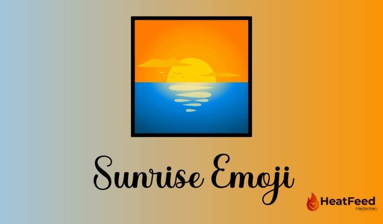 🌅 Sunrise Emoji