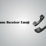 telephone receiver emoji