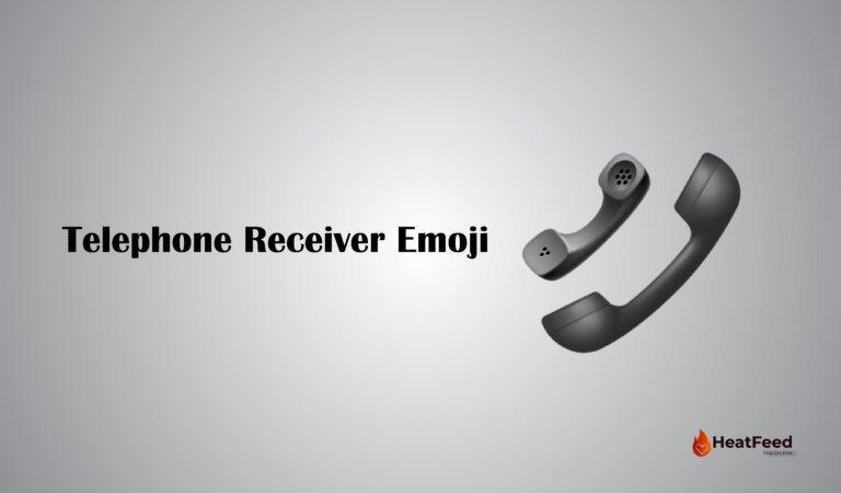 📞 Telephone Receiver Emoji