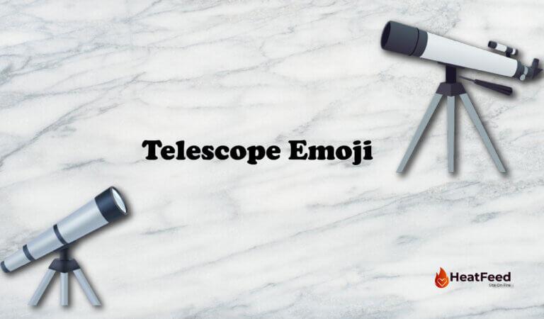 🔭 Telescope Emoji