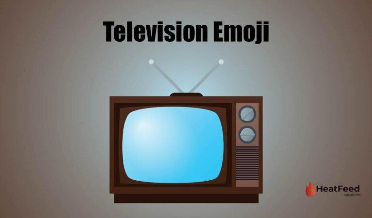 📺 Television Emoji