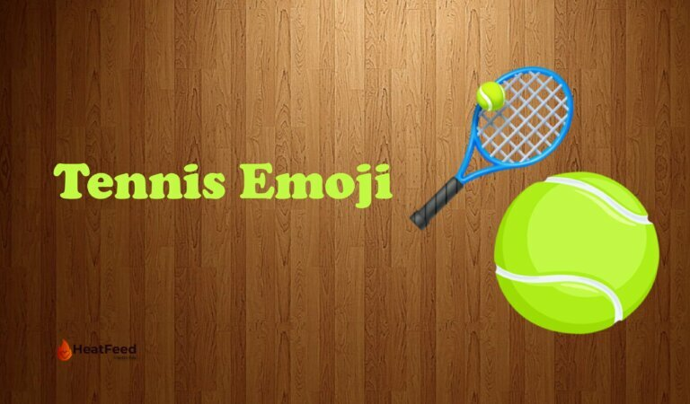 🎾 Tennis Emoji