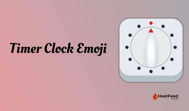 ⏲️Timer Clock Emoji