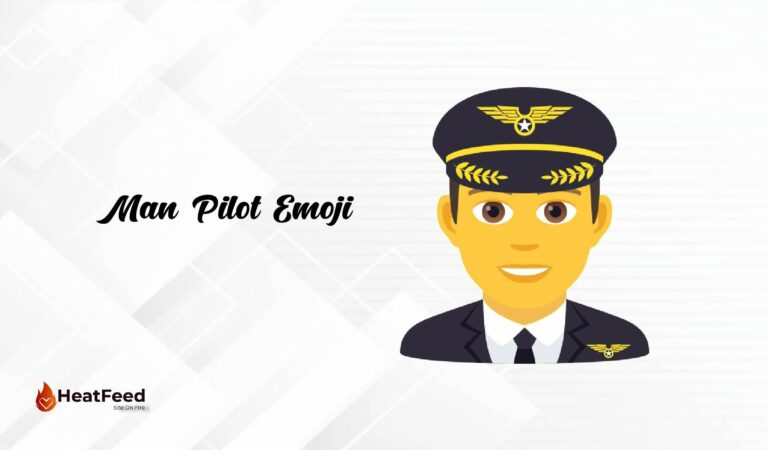 👨✈️Man Pilot Emoji