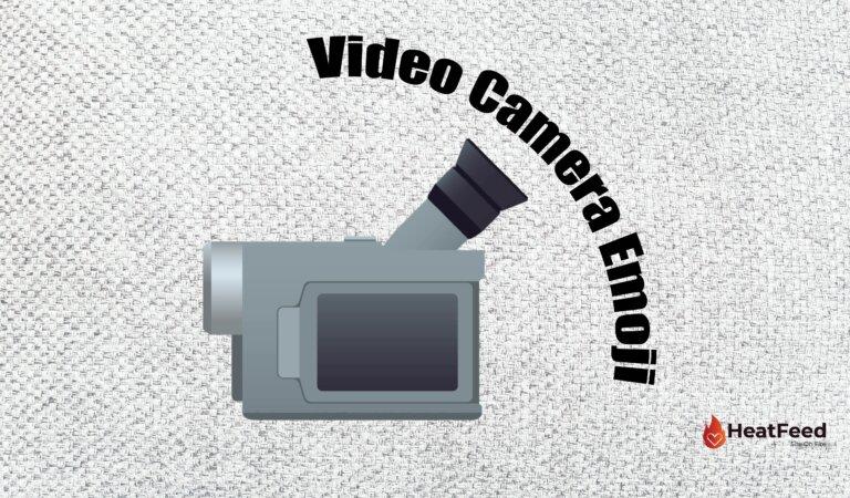 📹 Video Camera Emoji