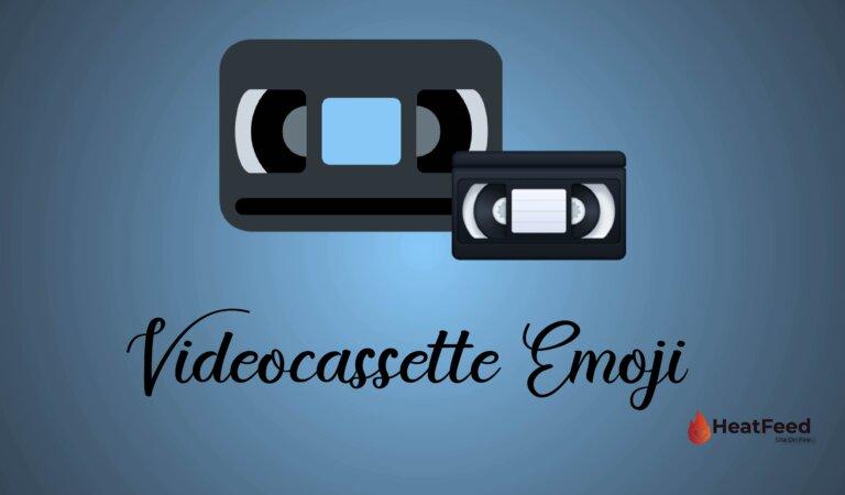 📼 Videocassette Emoji