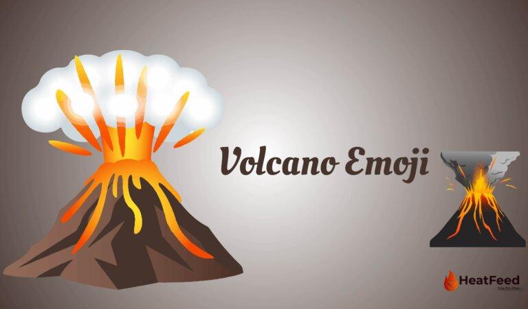 🌋 Volcano Emoji