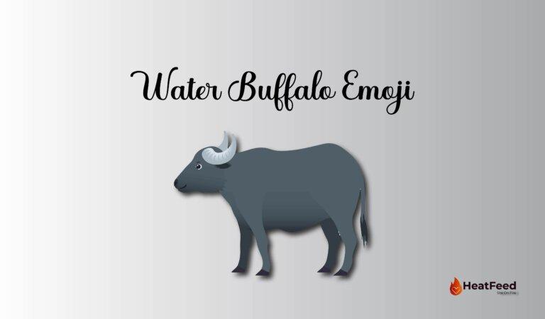 🐃 Water Buffalo Emoji