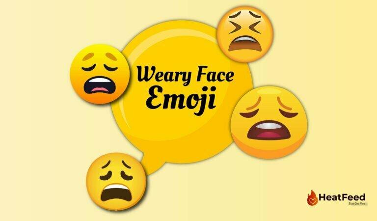 😩 Weary Face Emoji