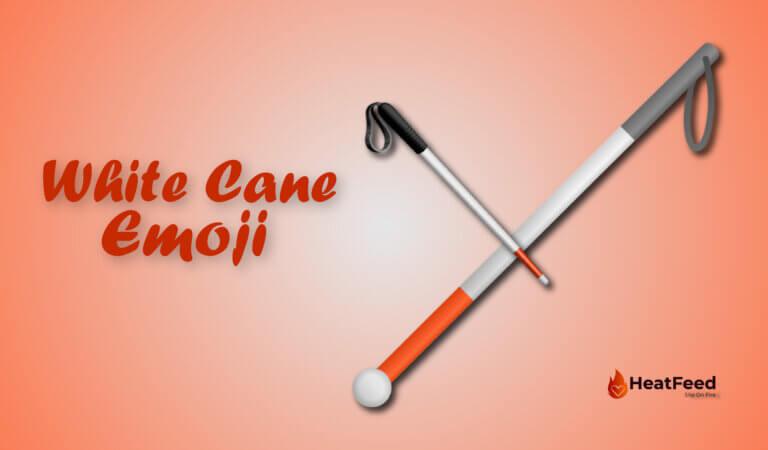 🦯 White Cane Emoji-Meaning