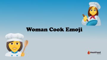 Woman Cook Emoji