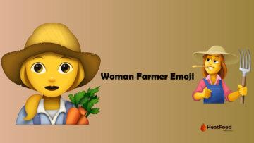 woman farmer emoji