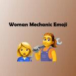 Woman mechanic emoji