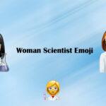 Woman scientist emoji