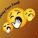 Yawning Face Emoji
