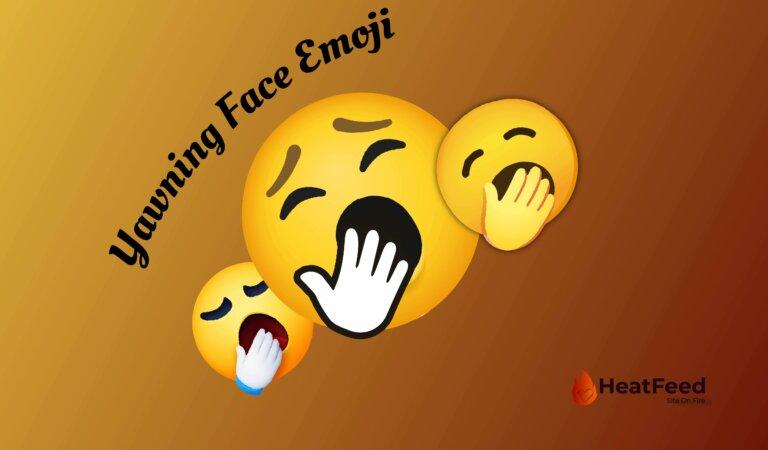 🥱 Yawning Face Emoji