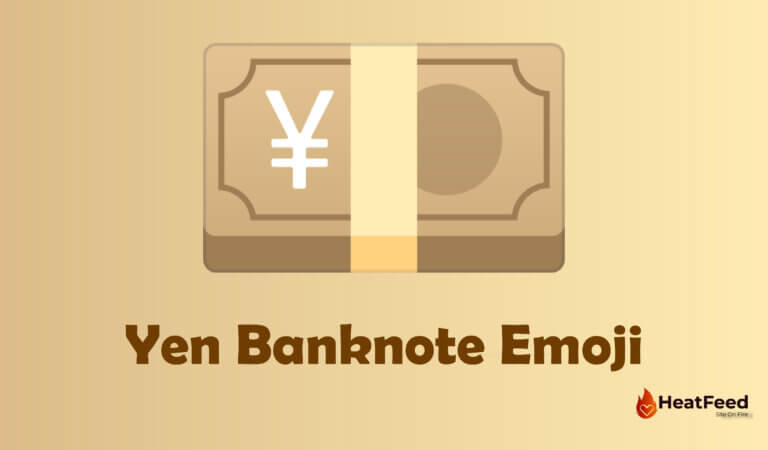 💴 Yen Banknote Emoji