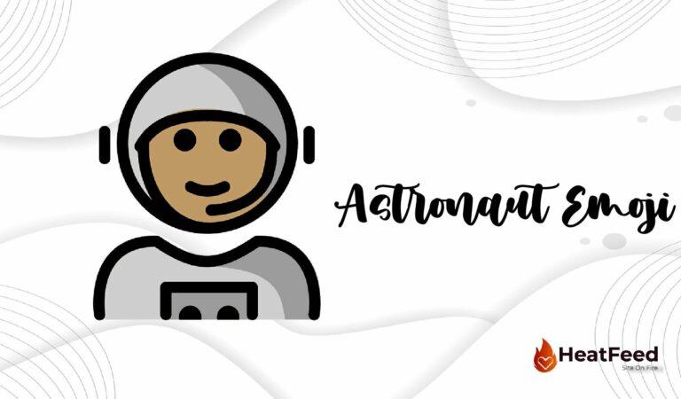 🧑🚀 Astronaut Emoji