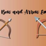 Bow and arrow emoji