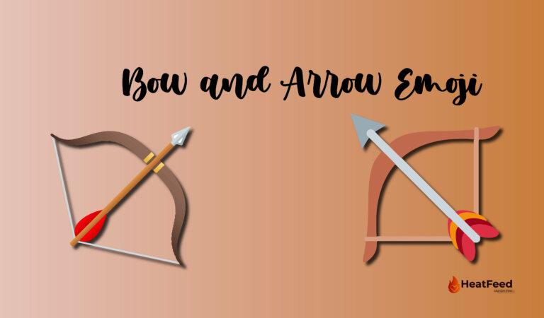 🏹 Bow and Arrow Emoji