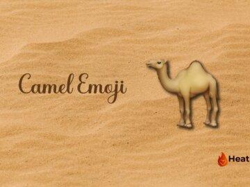 camel emoji