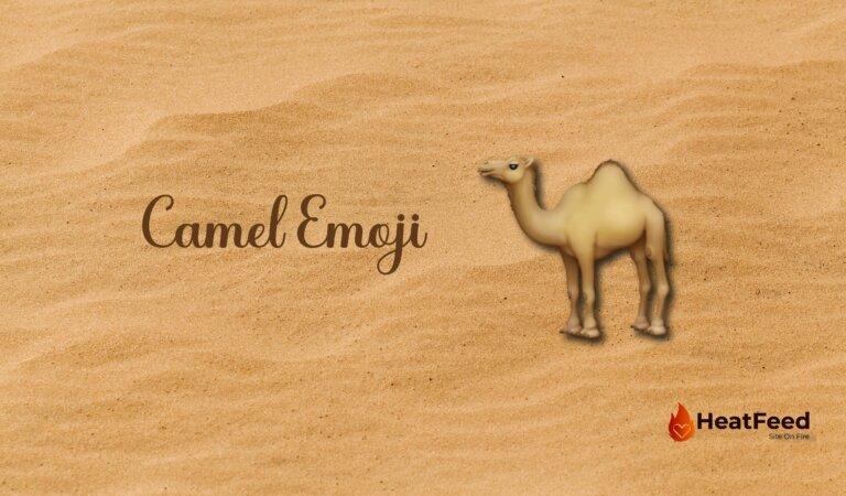 🐪 Camel Emoji