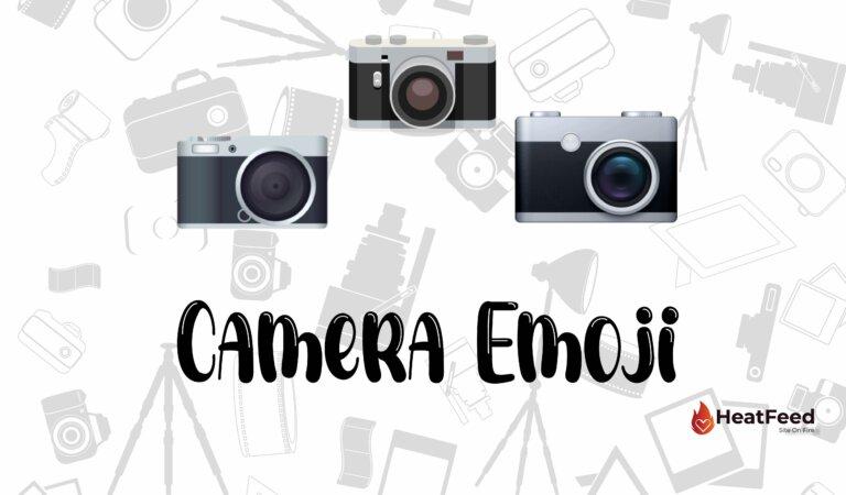 📷 Camera Emoji