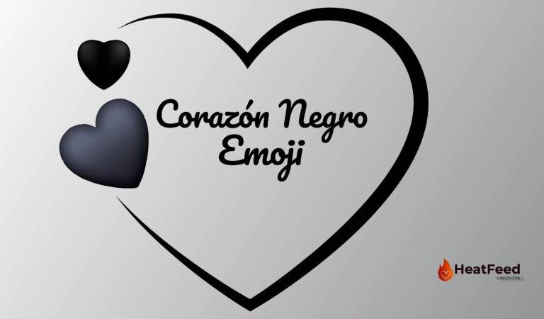 🖤 Emoji de corazón negro