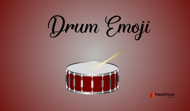 🥁 Drum Emoji