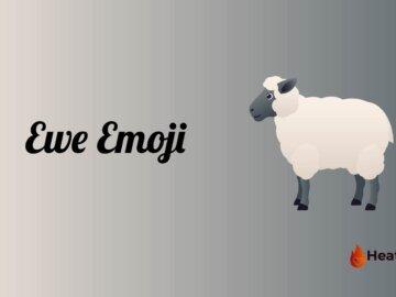 ewe emoji