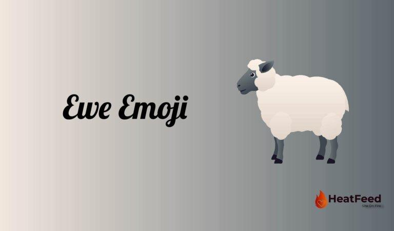 🐑 Ewe Emoji