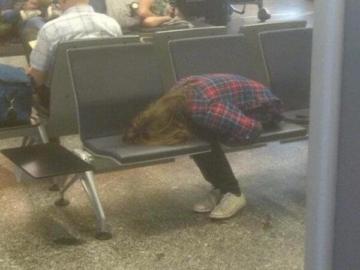 bizarre airport moments