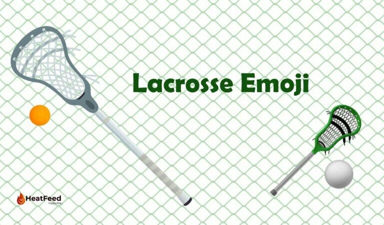 🥍 Lacrosse Emoji