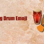 Long Drum Emoji