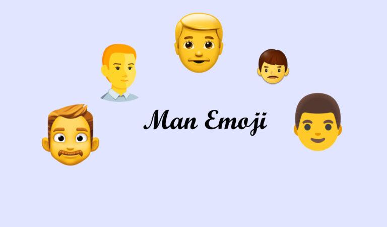 👨Man emoji