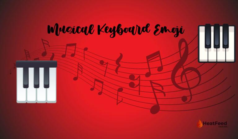 🎹 Musical Keyboard Emoji