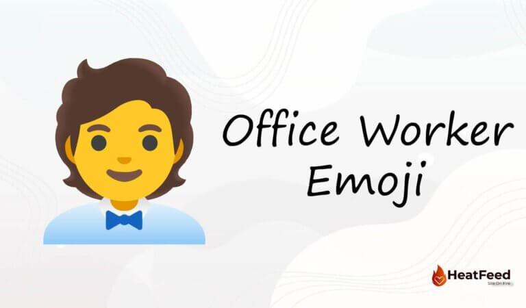 🧑💼 Office Worker Emoji