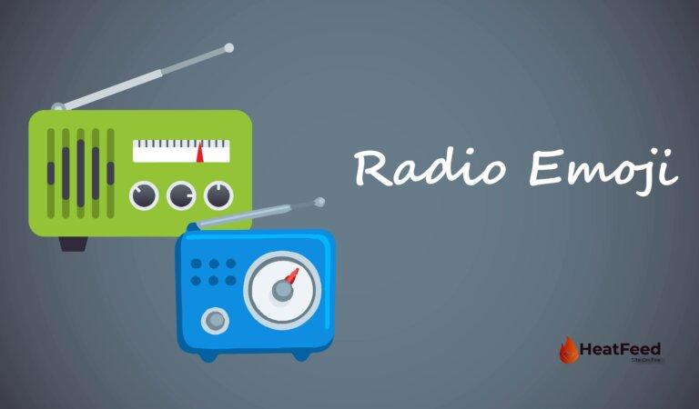 📻  Radio Emoji