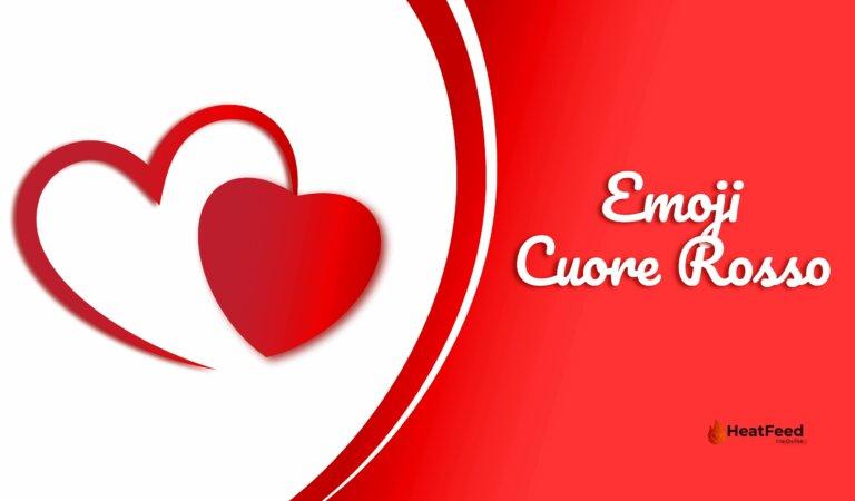 ❤️ Emoji Cuore Rosso