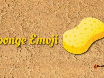 sponge emoji