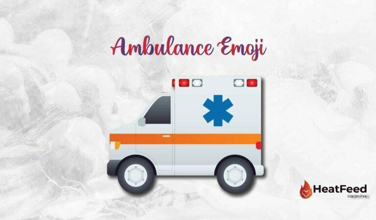 🚑 Ambulance Emoji
