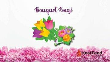 bouquet emoji