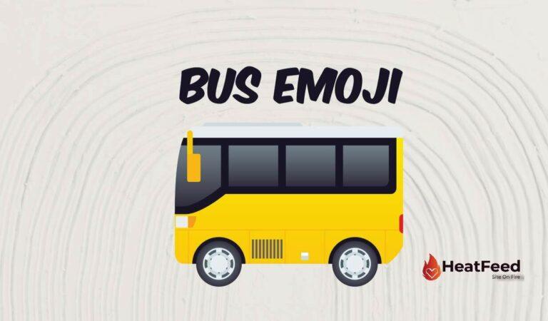 🚌 Bus Emoji