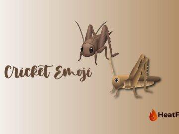 cricket emoji
