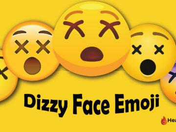 Dizzy Face Emoji