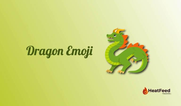🐉 Dragon Emoji