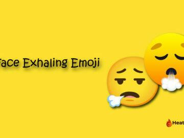 Face Exhaling Emoji
